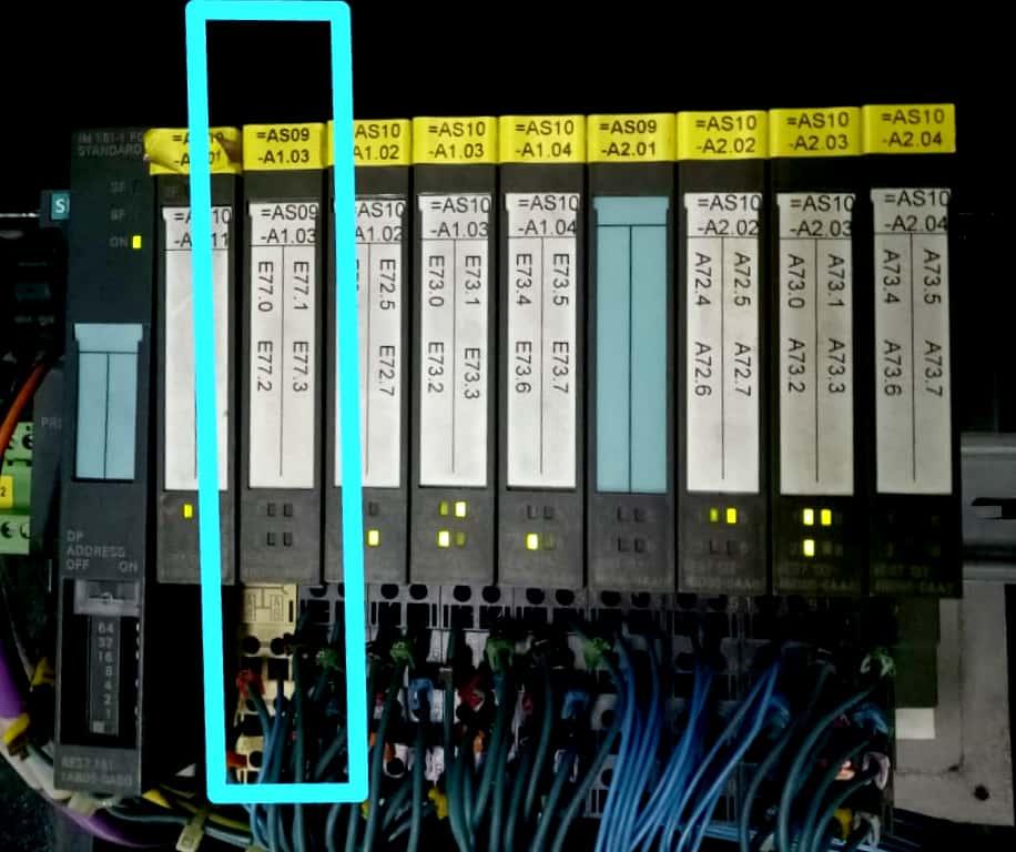 Perbaikan Plc Siemens S7-400  Profibus Error Sf Dan Bf
