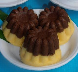 Resep Kue Kukus Labu Kuning Lapis Coklat