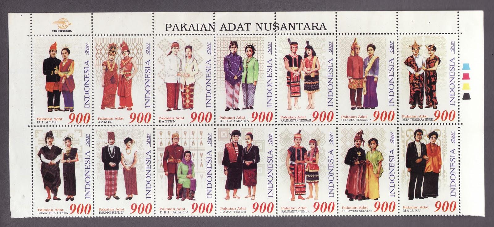 Tabel Pakaian Adat 34 Provinsi Di Indonesia