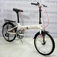 E 20 Inch Element 911 Police Folding Bike