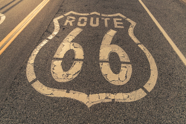 route 66 road shield