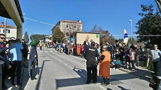 Tradicionalna utrka karića s kotačima od čeličnih kugličnih ležajeva, održana u Puli 17.02.2019.