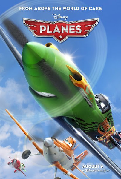 Poster of Planes 2013 720p BluRay Dual Audio