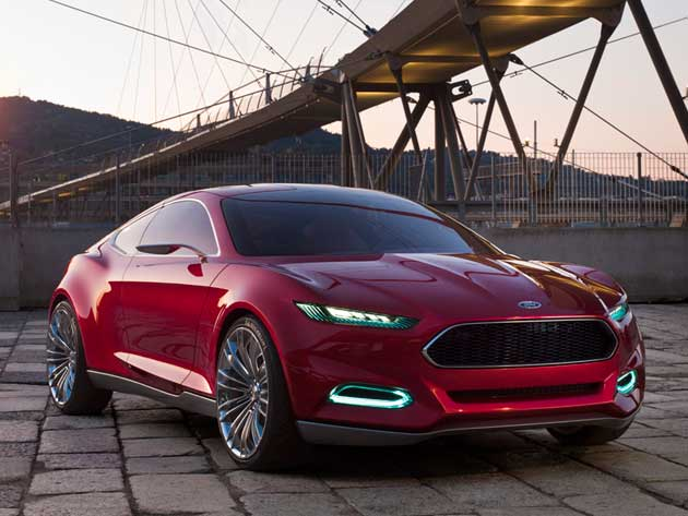 Ford Evos - Ford mustang successor ready to be launched in 2014 - 2017 Top Car Zone