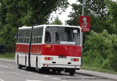 Ikarus 280.26 z MPK Kraków