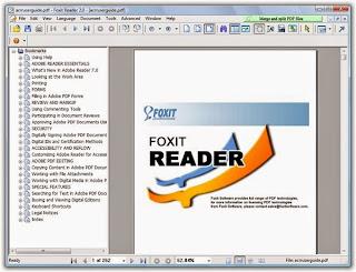 تحميل برنامج قرائة الكتب فوكس ريدر 2014 download Foxit Reader 6.2.0 Build 0429