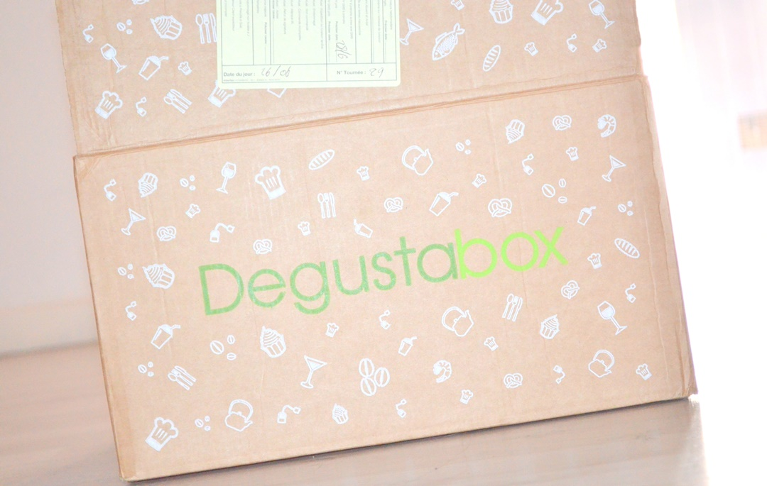 degustabox - box food - box alimentaire - box made in France - box