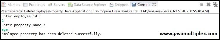 Java XML DOM Parser Output Part 7