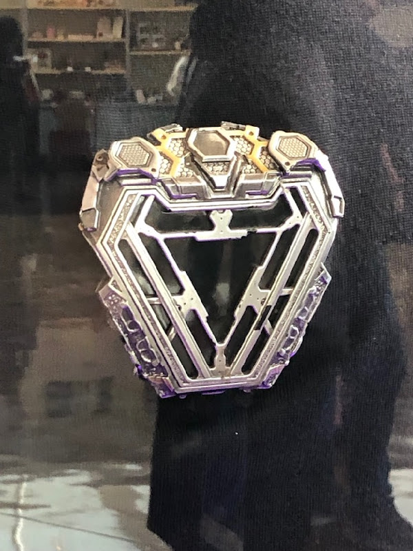 Avengers Endgame Tony Stark arc reactor