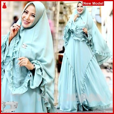FHGS9177 Model Syari Miranda Biru, Muslim Muda Baju Perempuan BMG