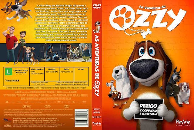 Capa DVD As Aventuras de Ozzy [Exclusiva]