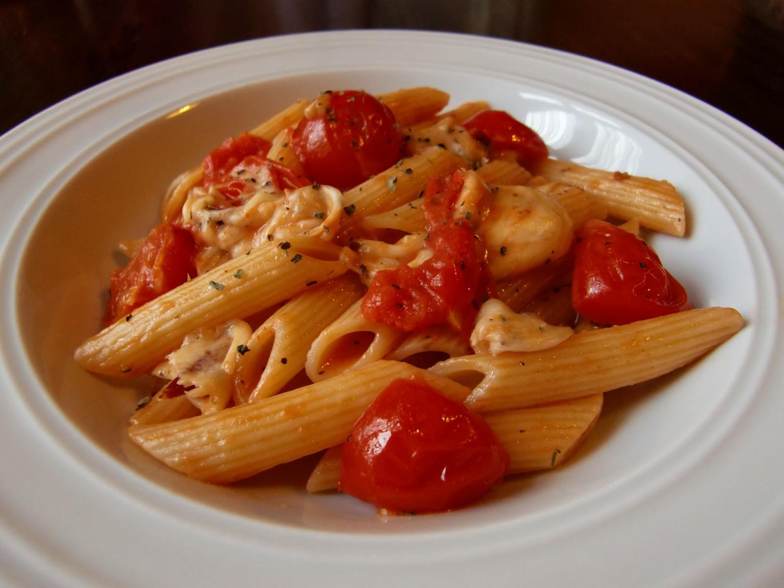 Rezept Nudeln Tomate-Mozzarella