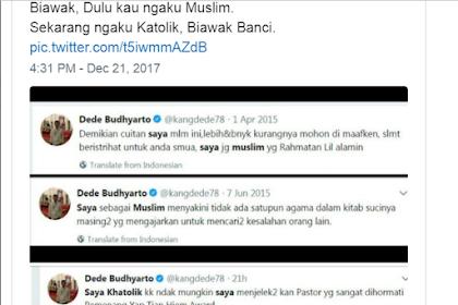 Duh Malunya! Jejak Digital Beda-beda Pengakuan Agamanya, Ahoker Kena Hajar Netizen
