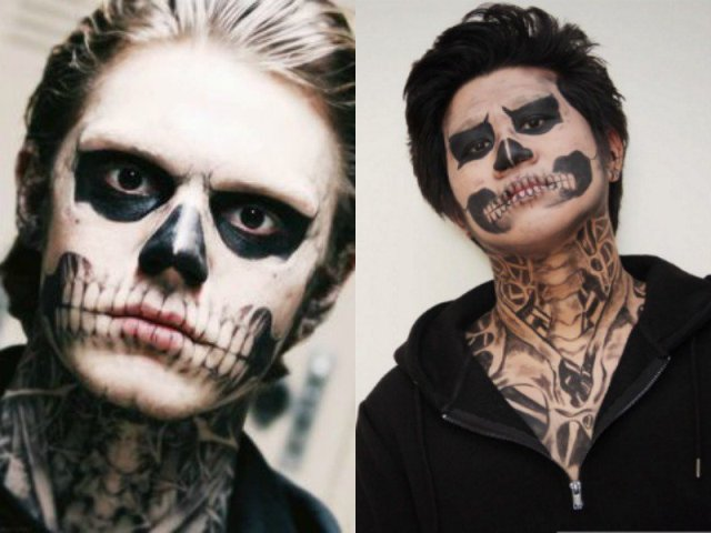 Cool Face Paint Ideas For Guys