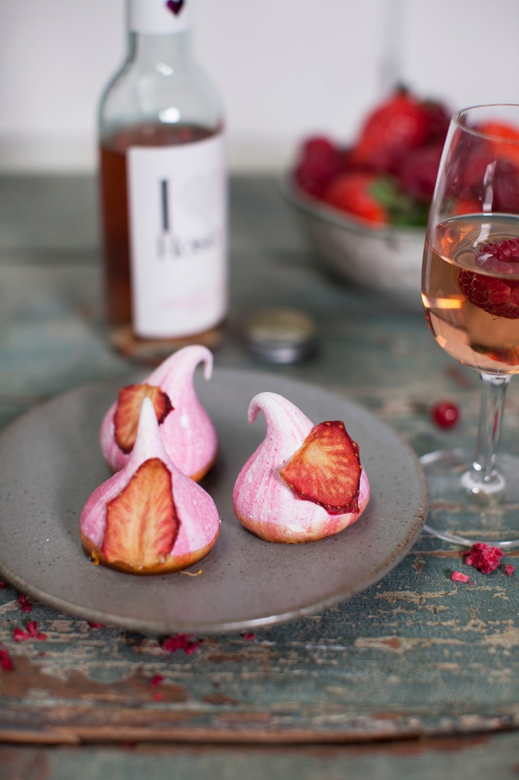 How To Make I Heart Rose Wine Infused Meringue