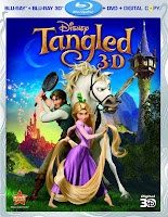 Download Tangled 3D (2010) BluRay 720p Half SBS 600MB Ganool