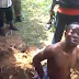 Omg! Watch shocking video of kidnapper who takes police to where he buried Chief from Rivers State he killed after collecting N10m ransom...