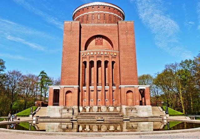 Planetarium Hamburg, Sehenswürdigkeiten in Hamburg Winterhude