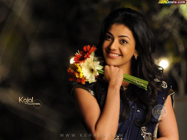 kajal agarwal romance photos