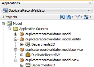 ADF Basics: Duplicate Record Validation Using Custom Java Method