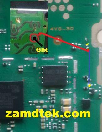 Nokia 215 RM-1110 power button Jumber