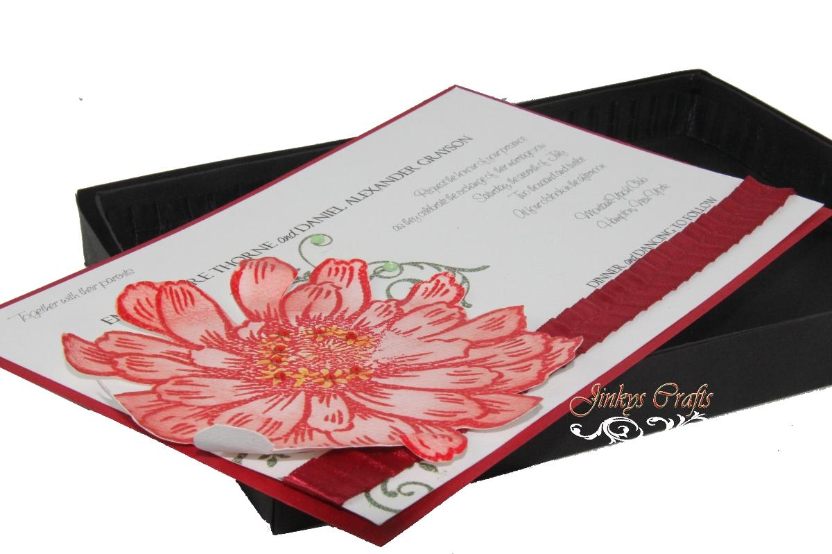 Wedding Invitation In A Box: Jinky's Crafts & Designs: DIY Box Wedding Invitations