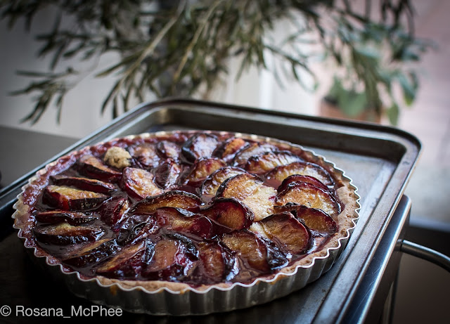 Latteria Studio Rome, Rachel Roddy, Alice Adams, Cookery School Rome, plum crostata