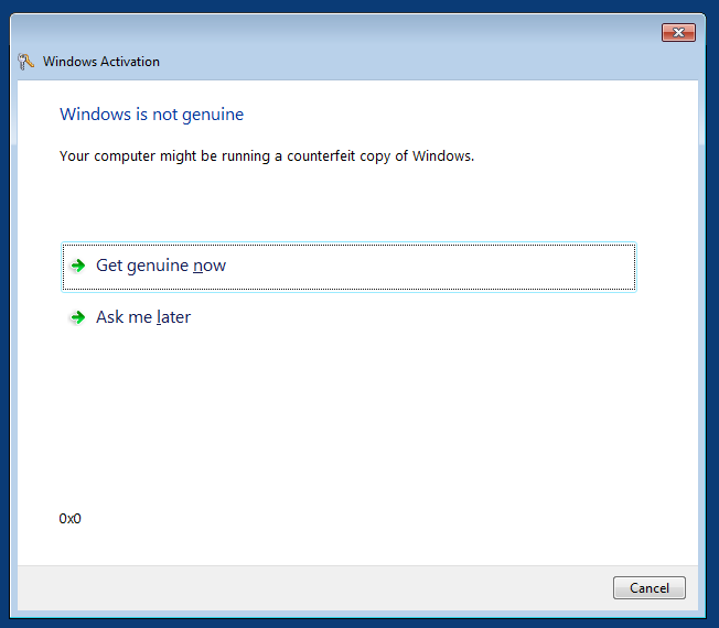 windows 7 update not running