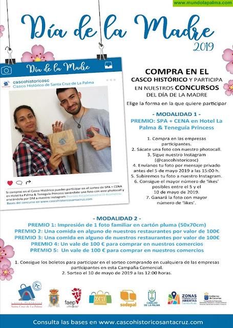 Las empresas de Santa Cruz se llenan de cuiosos Photocalls por la Campaña del Día de la Madre