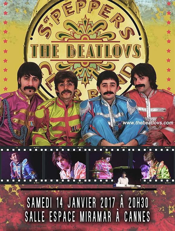 The Beatlovs à l'Espace Miramar de Cannes