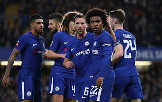 Sport: FA Cup ! Chelsea, Leicester City qualify for quarter-finals