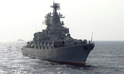 Kapal Perang Lengkap Dengan Rudal Jelajah DiKirim Ke Suriah