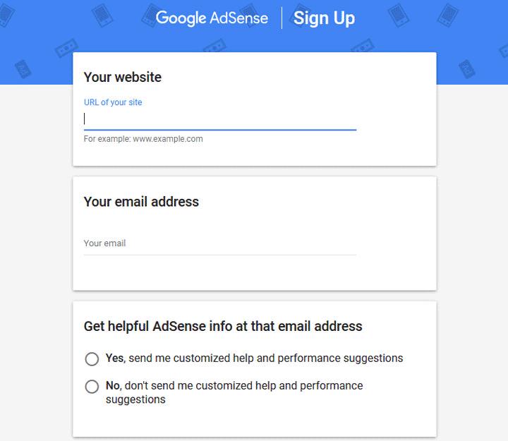 Belajar Buat Duit Dengan Blog - Cara Buka Akaun Google Adsense