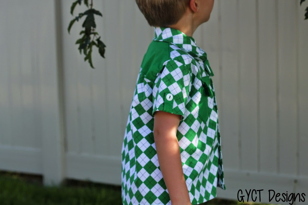 Pattern Parcel Boys:  The Maxwell Top by GYCT