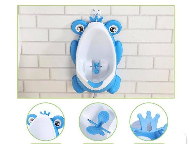 Cấu tạo bô tiểu mini cho bé trai hình con ếch