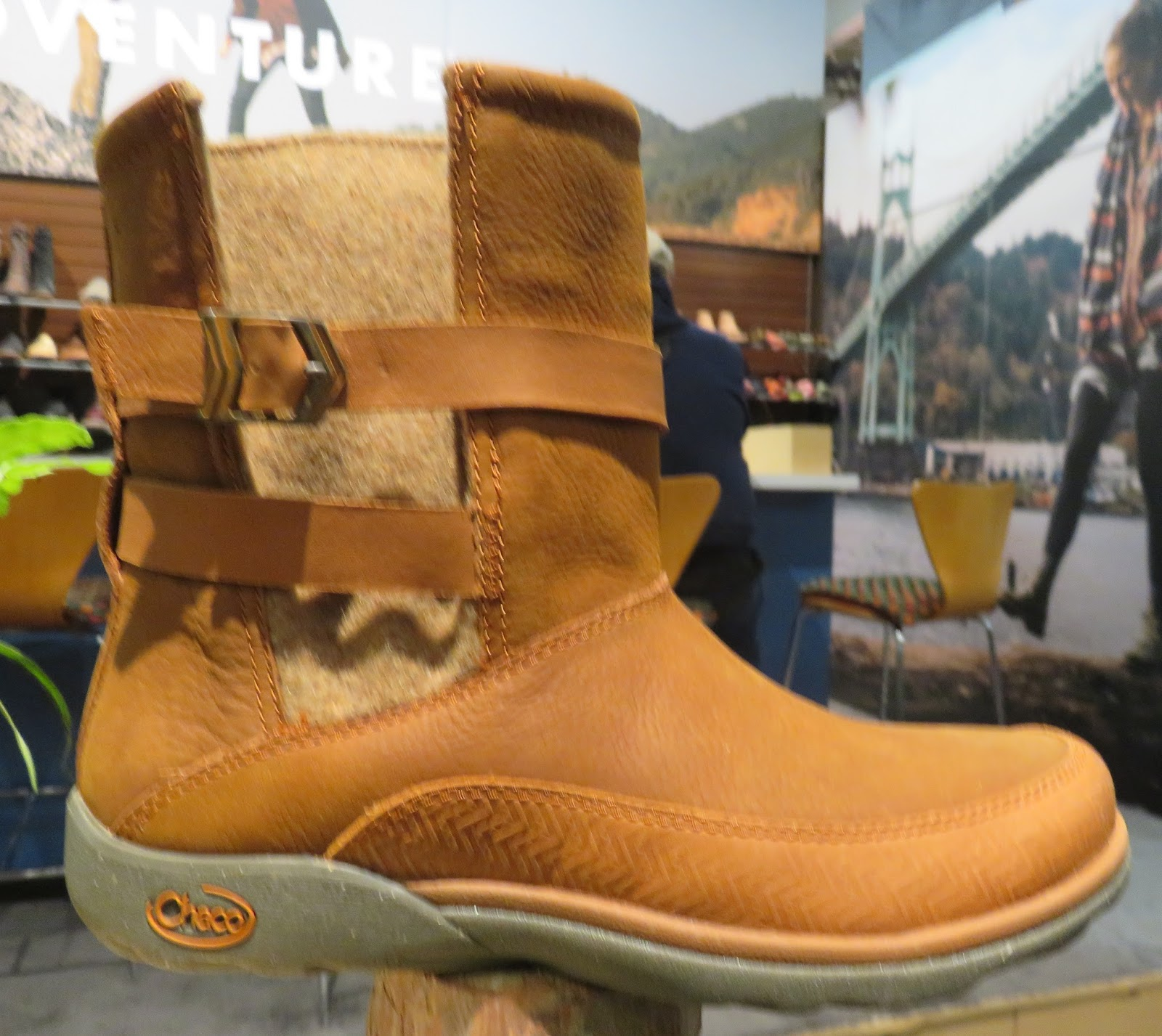 trout molded niki boot