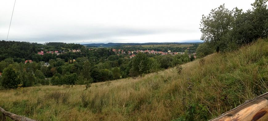 Duszniki Zdrój panorama