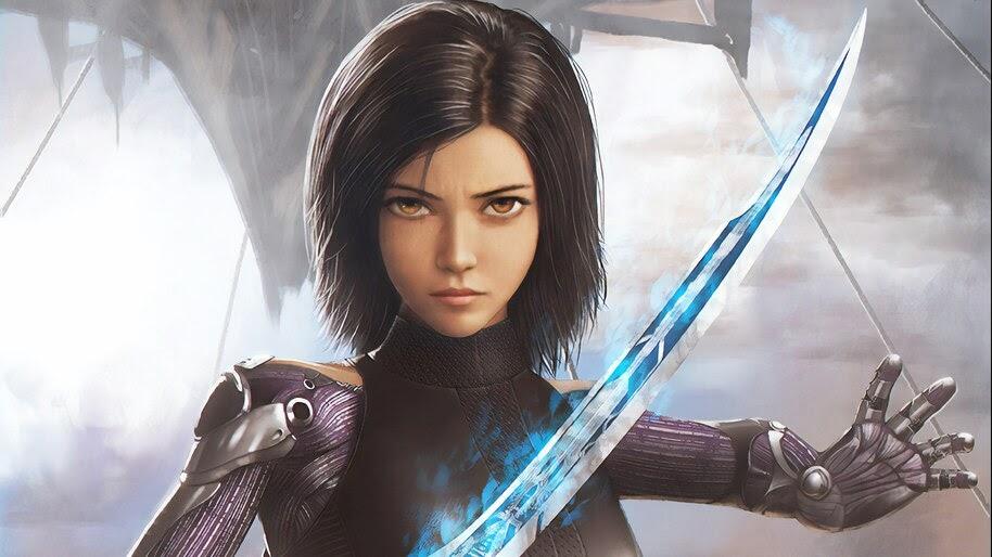 Alita Battle Angel, Sword, 4K, #3.103 Wallpaper