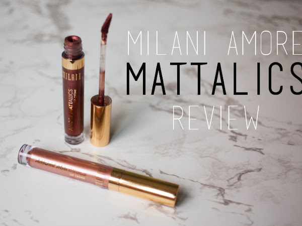 Beauty: Milani Amore Mattalics review
