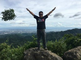 Sirao Peak in Cebu City Cebu Philippines