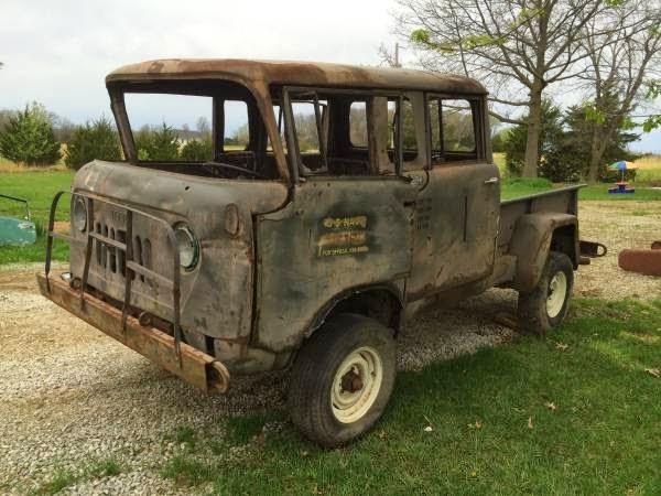 restoration project cars 1964 kaiser m677 crew cab project. Black Bedroom Furniture Sets. Home Design Ideas