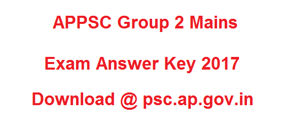 APPSC Group 2 Mains Answer Key 2017 Download Manaabdi, Schools9