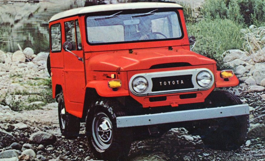 1960–1983 Toyota Land Cruiser FJ 40