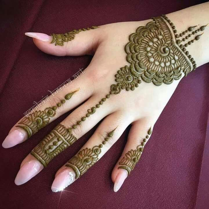 Latest Henna Mehndi Designs For Hands Health Care Beauty Tips