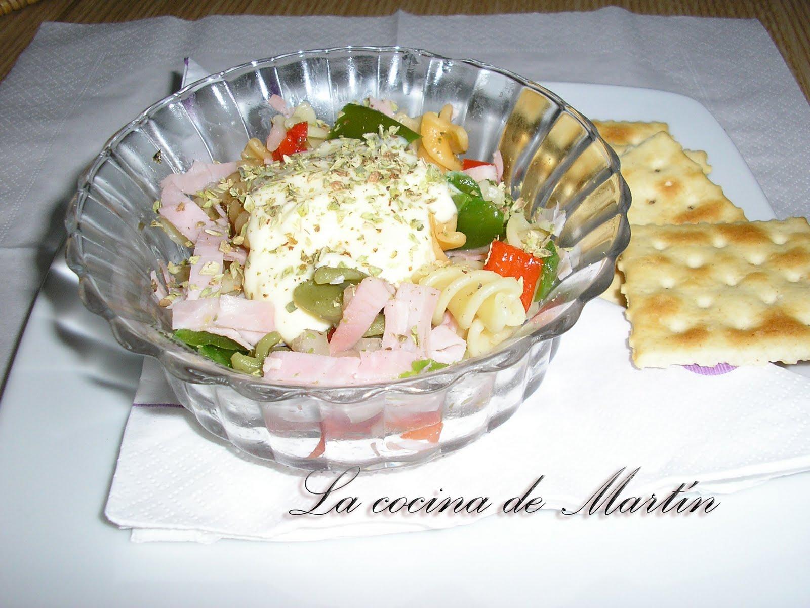 la cocina de mart n ensalada italiana
