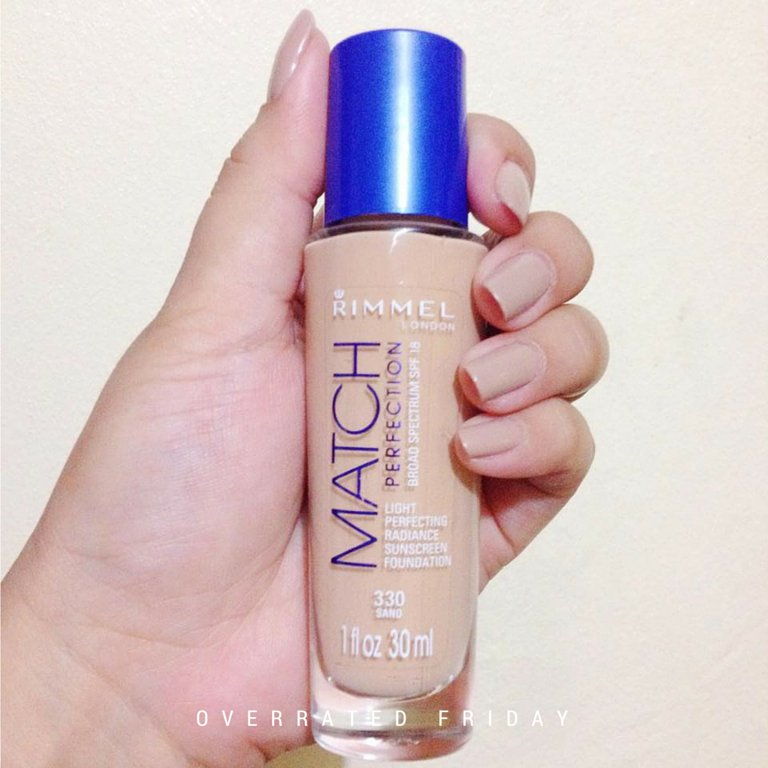 Rimmel London Match Perfection Review