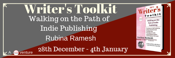 Blog Tour: Walking on the Path of Indie Publishing by Rubina Ramesh
