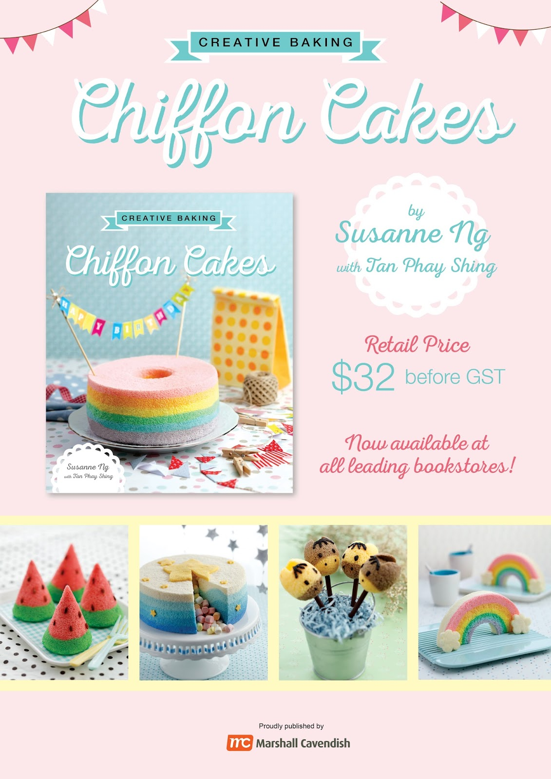 Loving Creations For You Creative Baking Chiffon Cakes