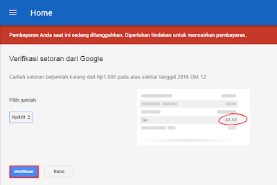 Mengatasi Pembayaran Google Adsense Ditangguhkan 8