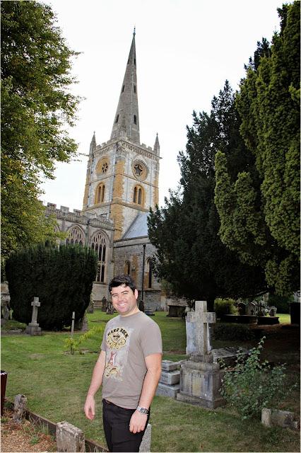 Igreja Divina Trindade Stradford Upon Avon